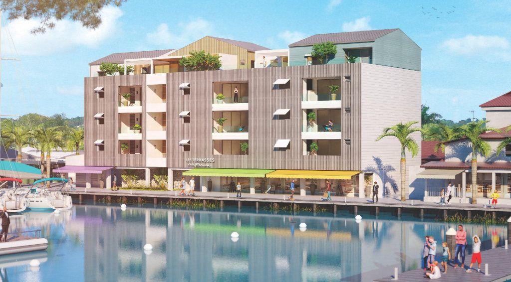 Appartement à vendre 2 58.6m2 à Saint-François vignette-1