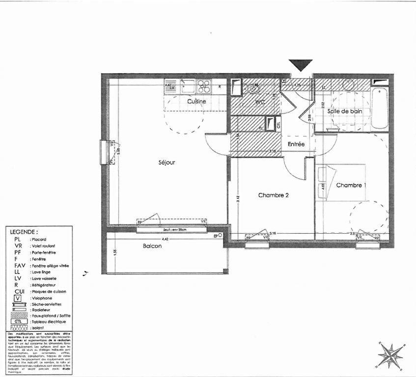 Appartement à vendre 3 60.35m2 à Montlhéry vignette-5