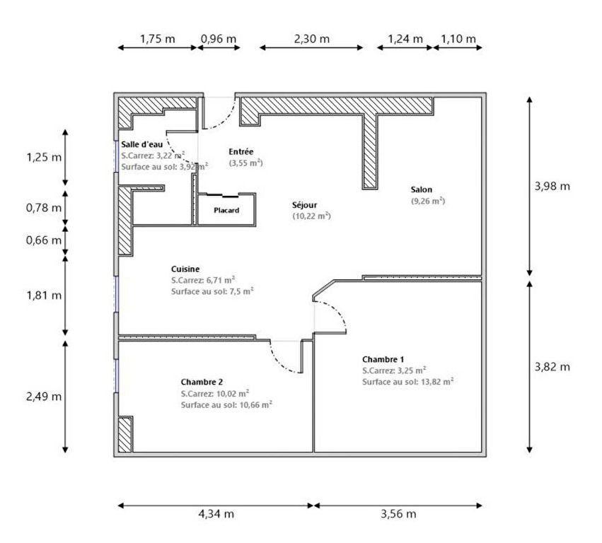 Appartement à vendre 3 36.97m2 à Nice vignette-11