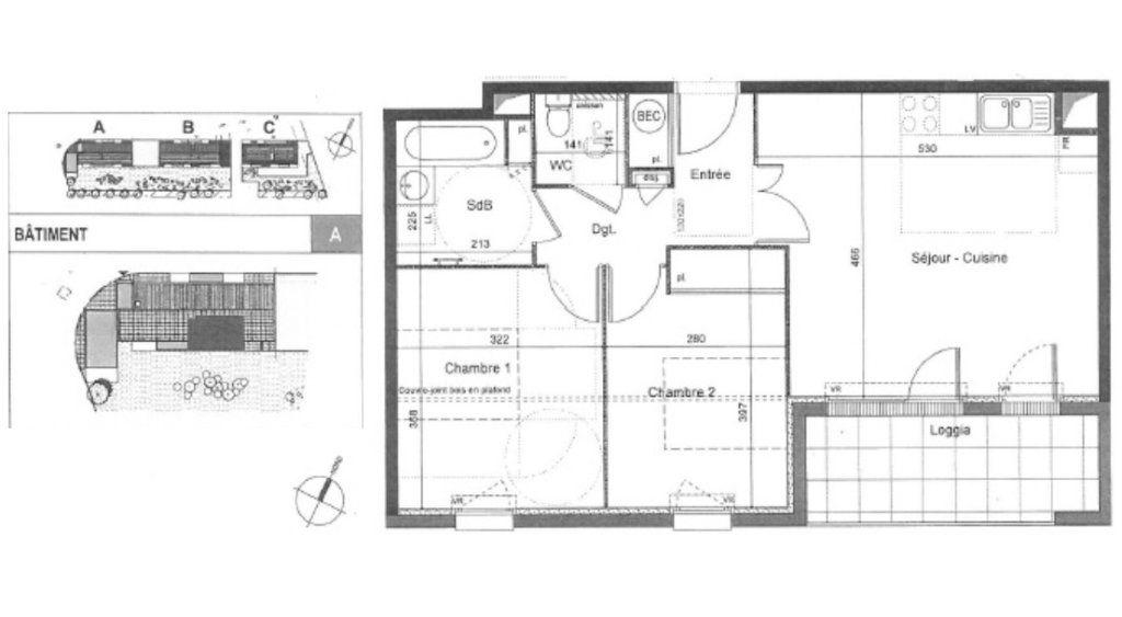 Appartement à vendre 3 61m2 à Léguevin vignette-9