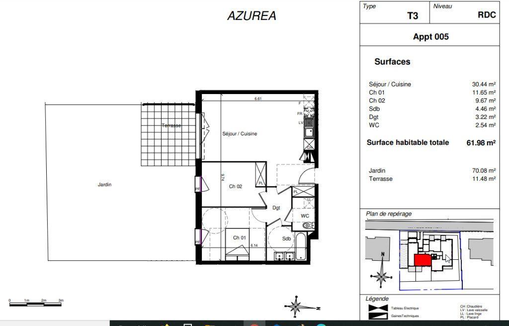 Appartement à vendre 3 61.98m2 à Toulouse vignette-2