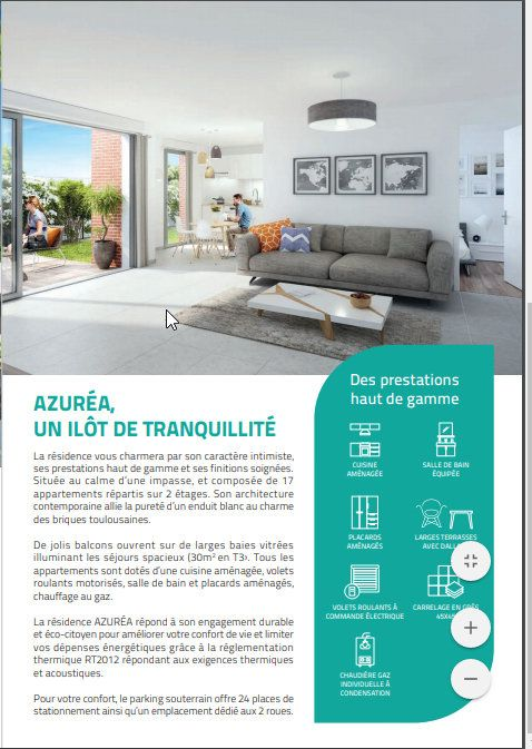 Appartement à vendre 3 61.98m2 à Toulouse vignette-4