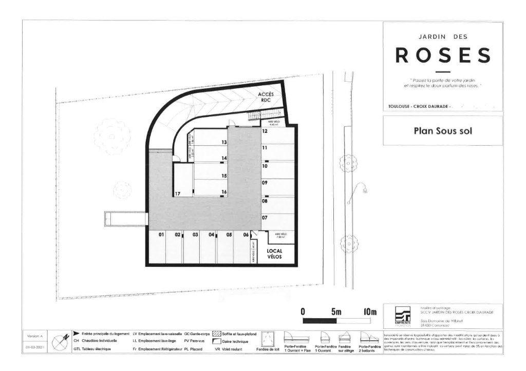 Appartement à vendre 3 65.31m2 à Toulouse vignette-3