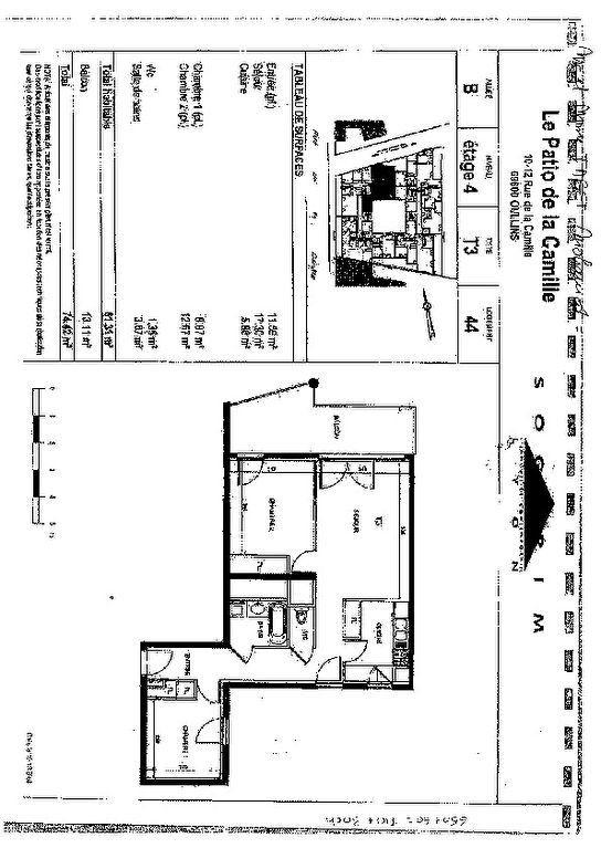 Appartement à louer 3 62.57m2 à Oullins vignette-8