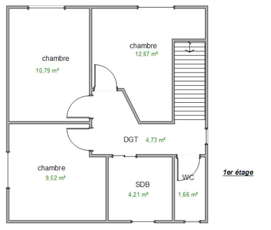 Maison à vendre 7 137m2 à Éveux plan-2