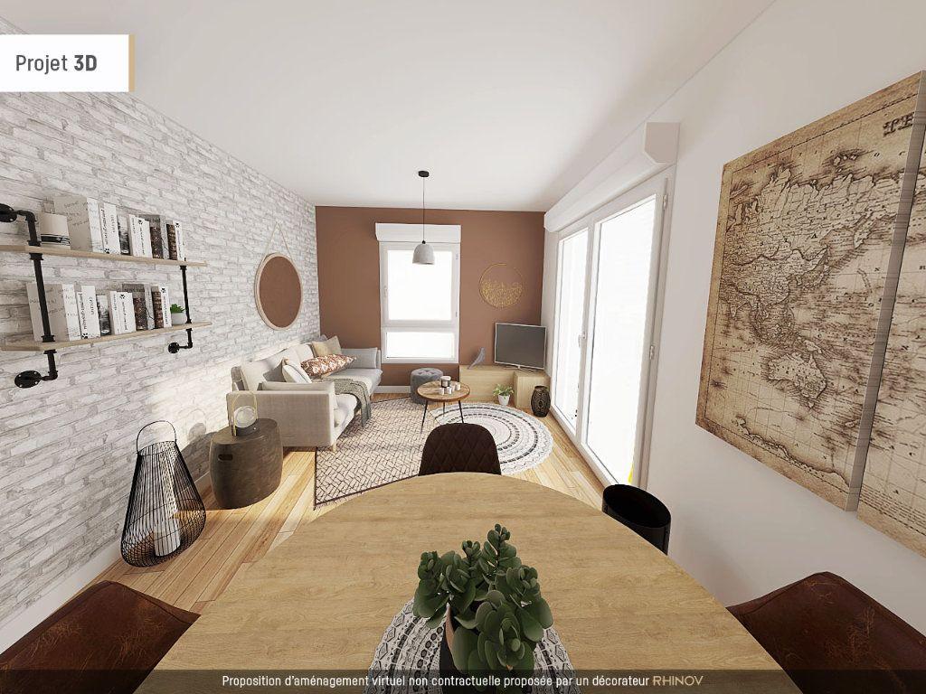 Appartement à vendre 2 42.1m2 à Vaulx-en-Velin vignette-1