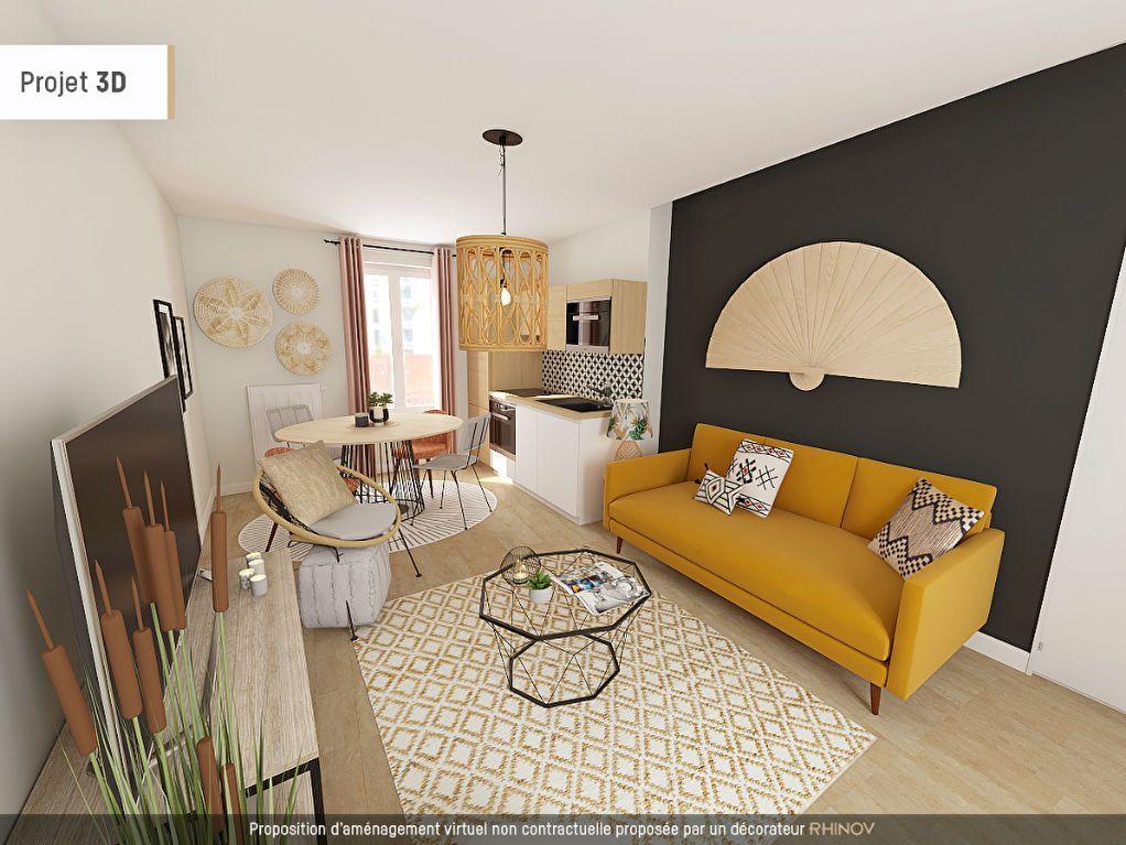 Appartement à vendre 2 31m2 à Villeurbanne vignette-2