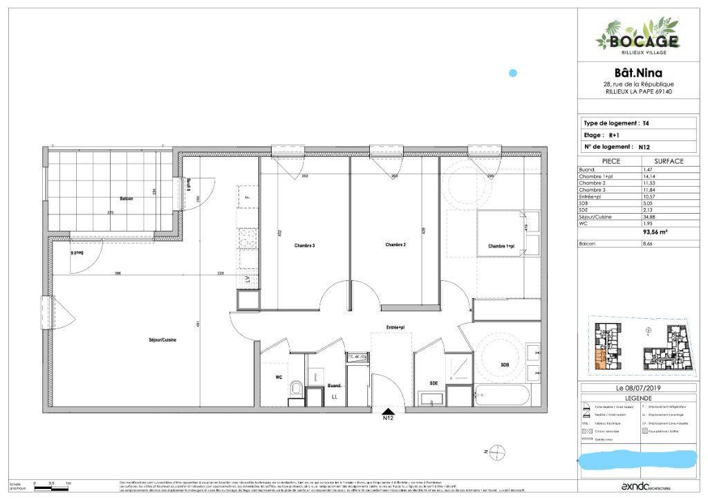 Appartement à vendre 4 94m2 à Rillieux-la-Pape vignette-6