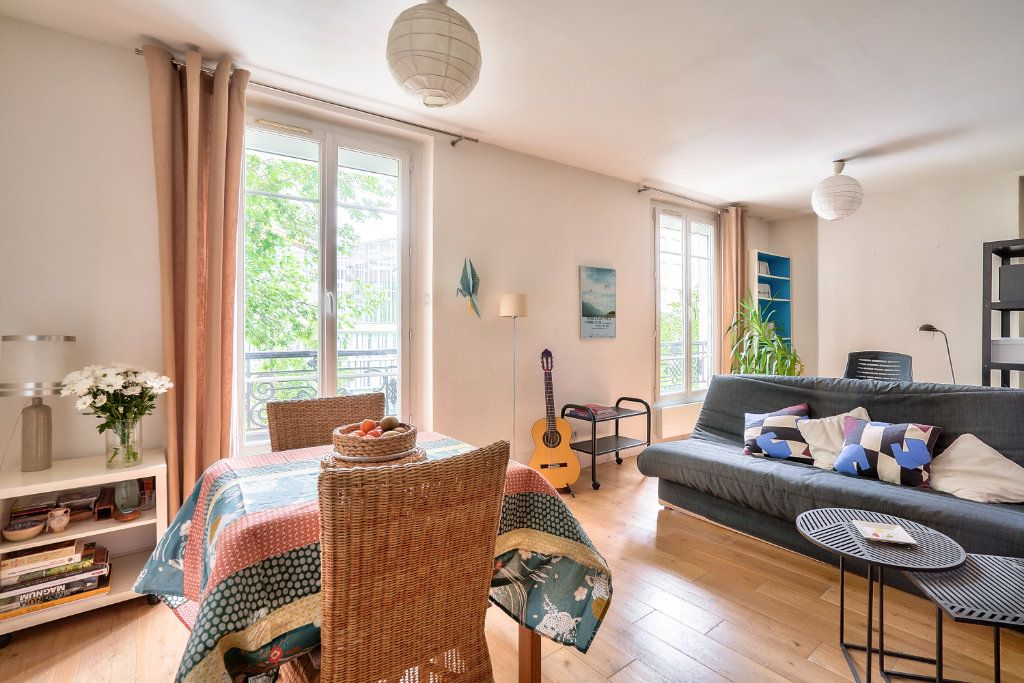 Appartement à vendre 2 33.9m2 à Paris 13 vignette-1
