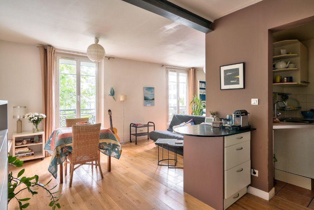 Appartement à vendre 2 33.9m2 à Paris 13 vignette-3
