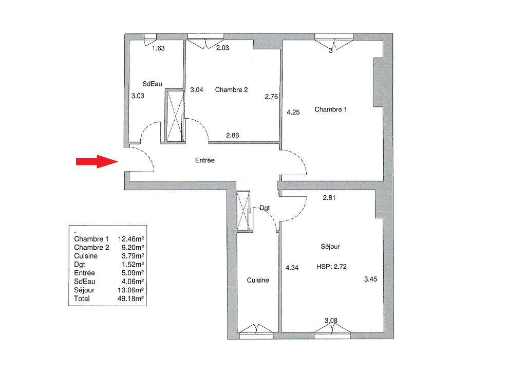 Appartement à vendre 3 49.18m2 à Paris 14 vignette-2