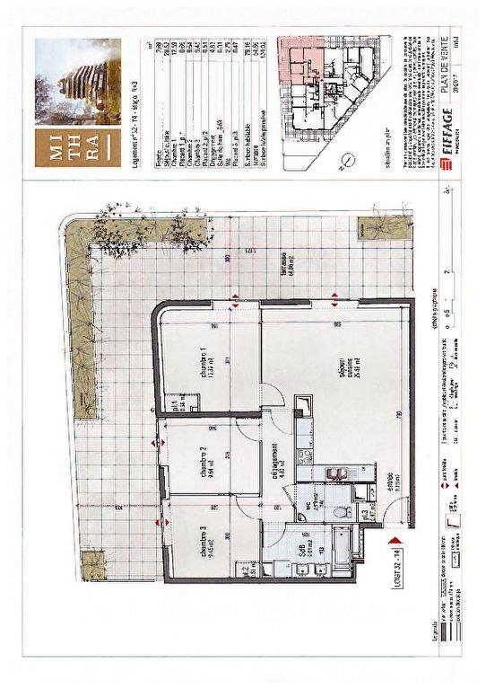 Appartement à vendre 4 114m2 à Montpellier plan-1