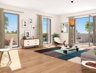 Appartement à vendre 3 57m2 à Montpellier vignette-1