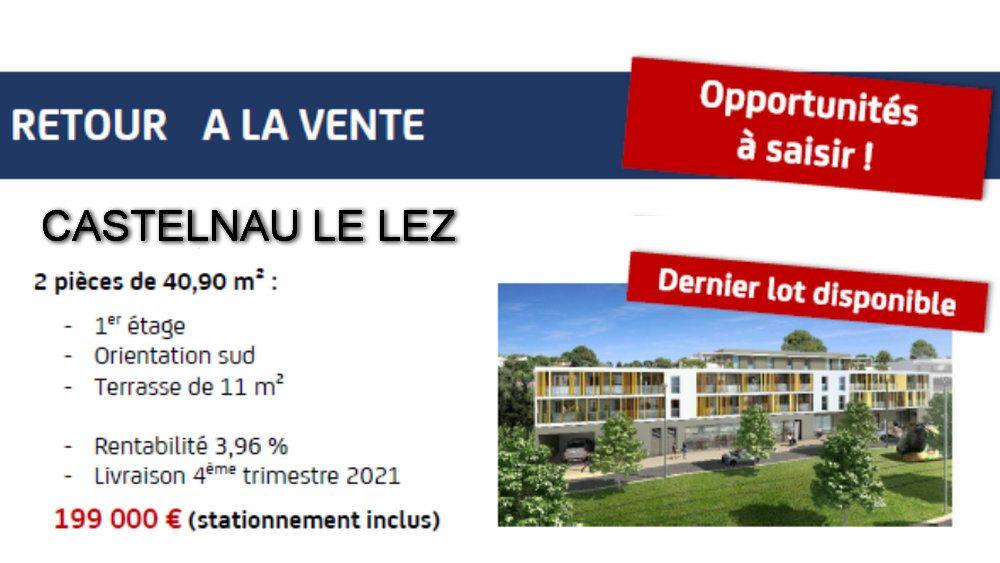 Appartement à vendre 2 41m2 à Castelnau-le-Lez vignette-1