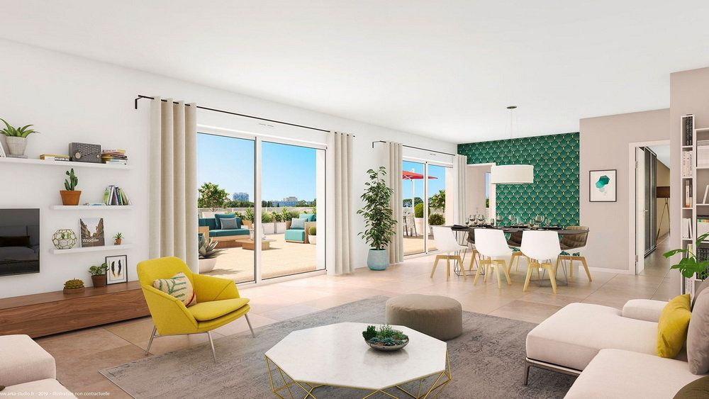 Appartement à vendre 3 69m2 à Montpellier vignette-3