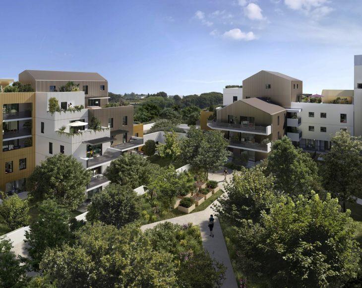 Appartement à vendre 2 55m2 à Montpellier vignette-2
