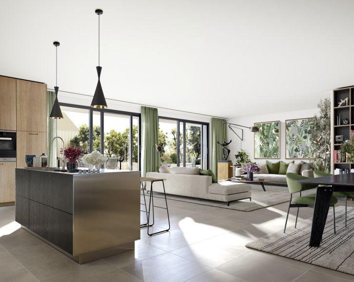 Appartement à vendre 4 107m2 à Montpellier vignette-2