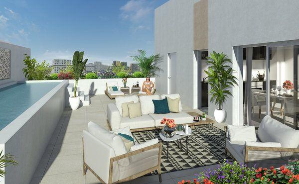 Appartement à vendre 4 95m2 à Montpellier vignette-1
