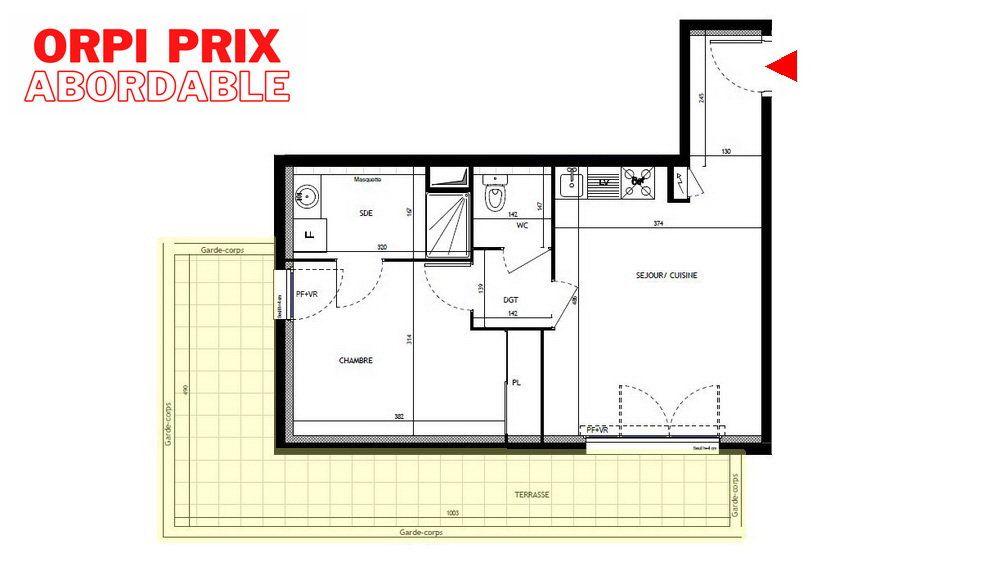 Appartement à vendre 2 43m2 à Montpellier vignette-1
