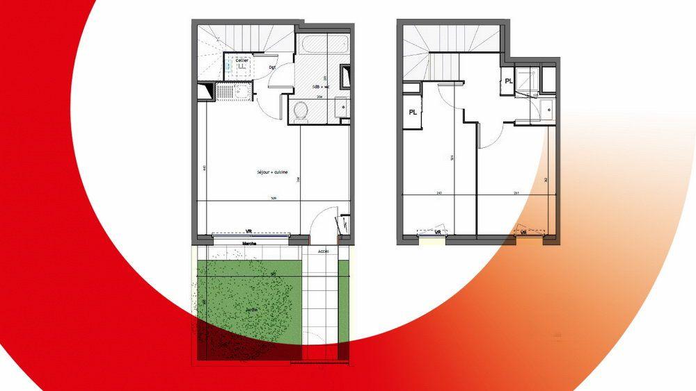 Appartement à vendre 3 58m2 à Montpellier vignette-4
