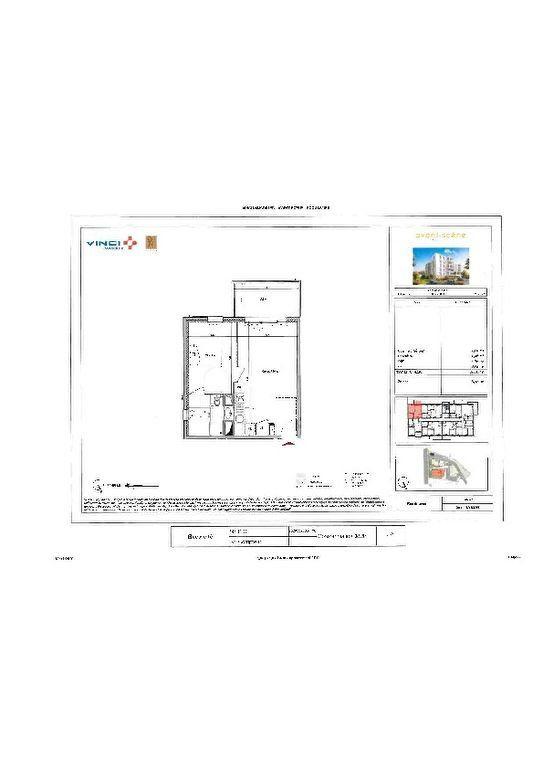 Appartement à louer 2 39.86m2 à Roquevaire plan-1