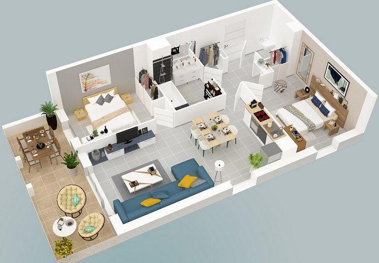 Appartement à vendre 3 57.55m2 à Roquevaire vignette-2