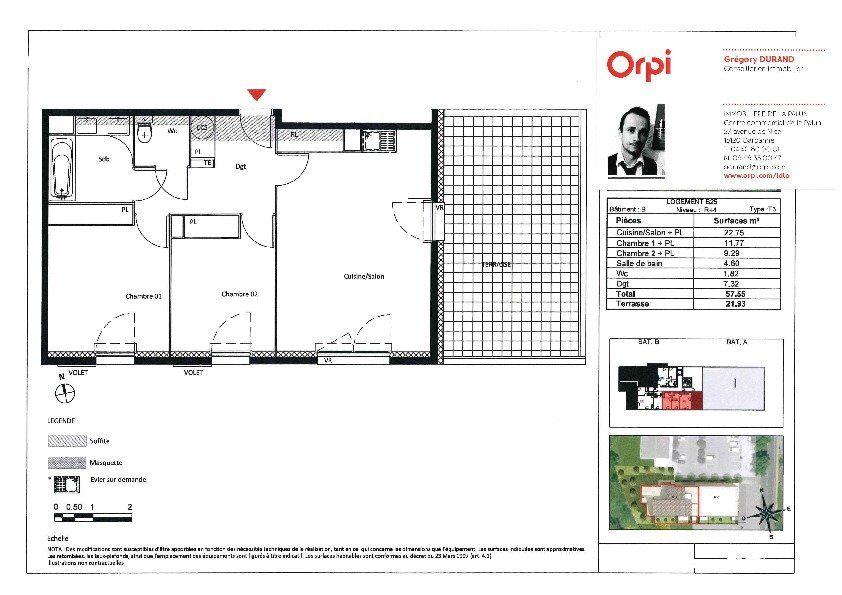 Appartement à vendre 3 57.55m2 à Roquevaire vignette-3