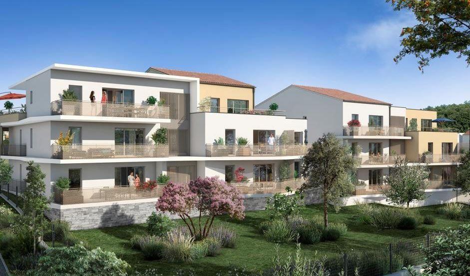 Appartement à vendre 3 61.98m2 à Meyreuil vignette-1