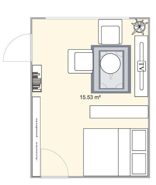 Appartement à louer 1 29m2 à Paris 15 vignette-2