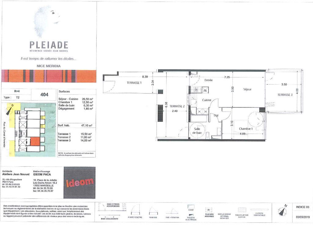 Appartement à louer 2 47.1m2 à Nice vignette-11