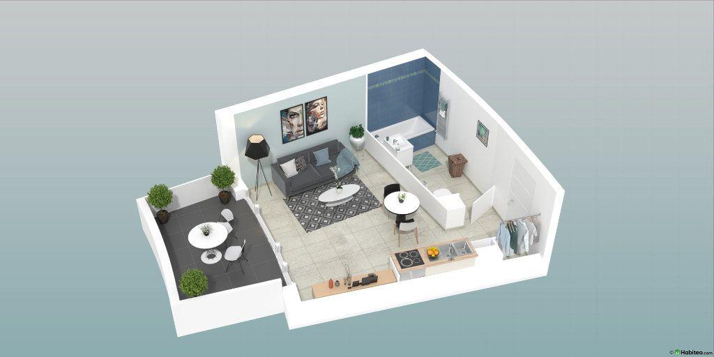 Appartement à vendre 1 30m2 à Le Cap d'Agde - Agde vignette-2