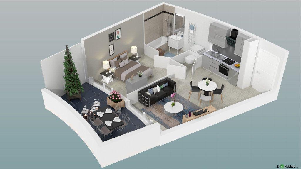 Appartement à vendre 2 36m2 à Le Cap d'Agde - Agde vignette-6