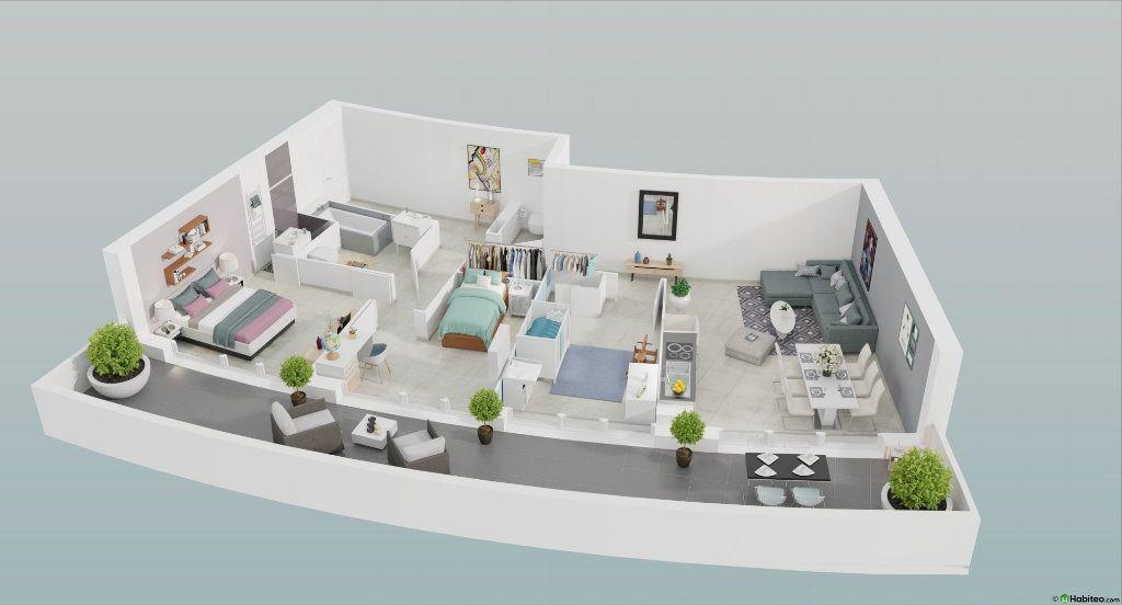 Appartement à vendre 4 82m2 à Le Cap d'Agde - Agde vignette-1