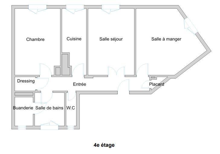 Appartement à vendre 3 67m2 à Paris 10 vignette-11
