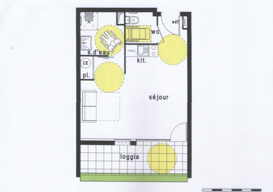 Appartement à vendre 1 33m2 à Balma vignette-1
