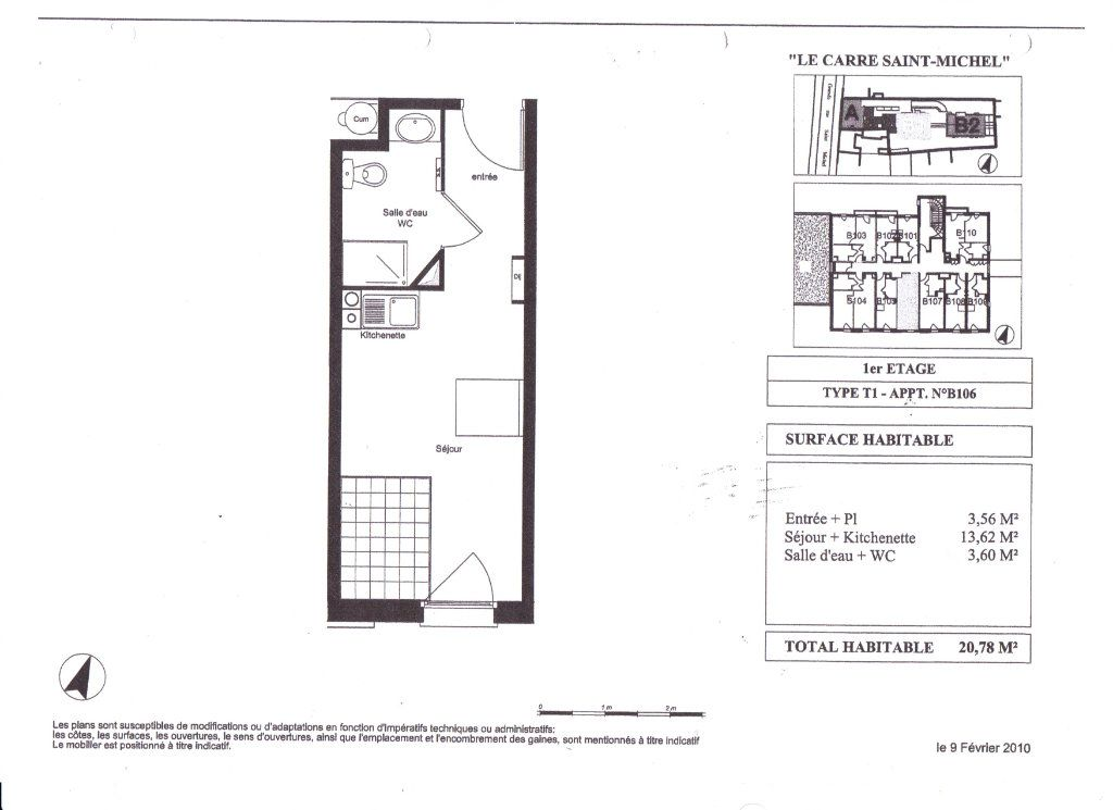 Appartement à vendre 1 20.78m2 à Toulouse vignette-5