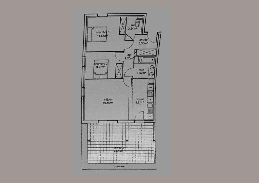 Appartement à vendre 3 64.52m2 à Toulouse vignette-9