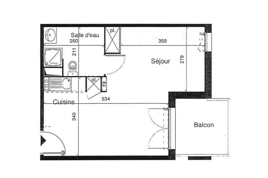Appartement à vendre 1 33.17m2 à Toulouse vignette-7