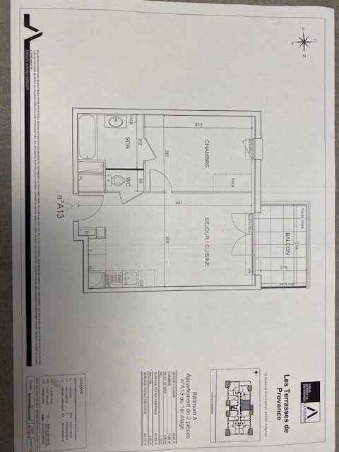 Appartement à louer 2 40.55m2 à Avignon vignette-2