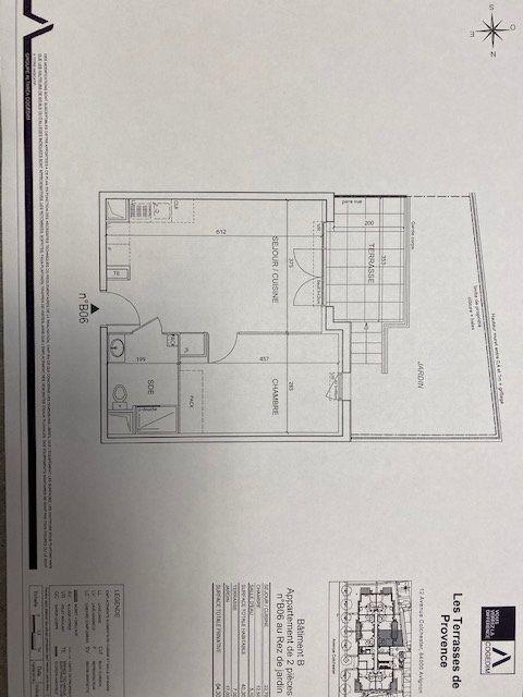 Appartement à louer 2 40.3m2 à Avignon vignette-2