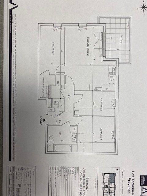 Appartement à louer 4 79.25m2 à Avignon vignette-2