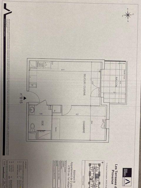 Appartement à louer 2 40.95m2 à Avignon vignette-2