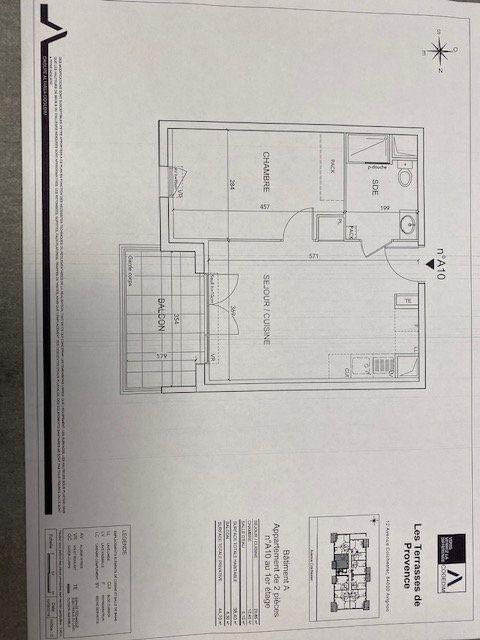 Appartement à louer 2 38.4m2 à Avignon vignette-2