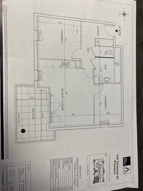 Appartement à louer 3 57.9m2 à Avignon vignette-7