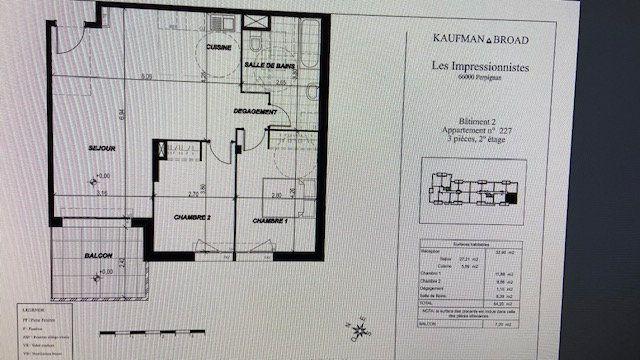 Appartement à louer 3 64.2m2 à Perpignan vignette-11