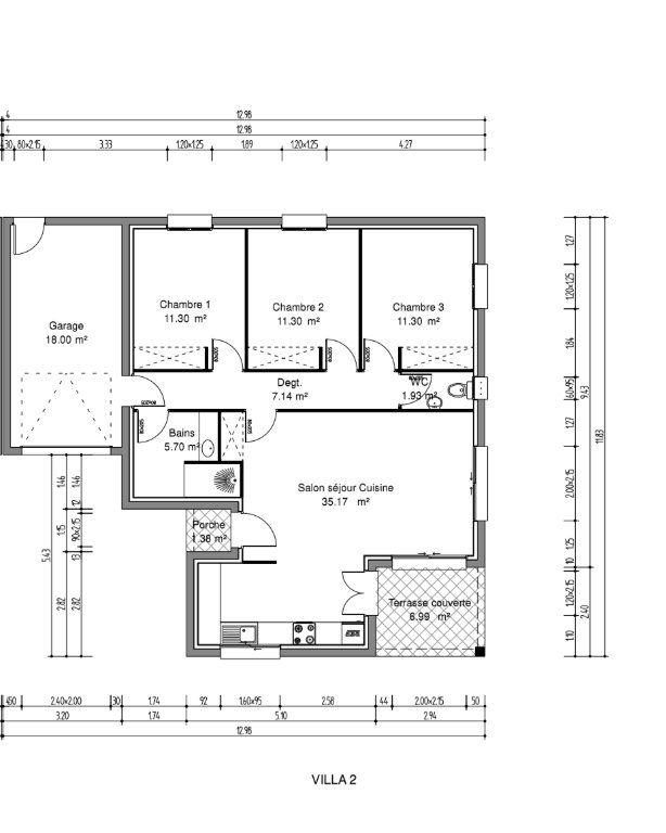 Maison à vendre 4 84m2 à Toulouges vignette-4