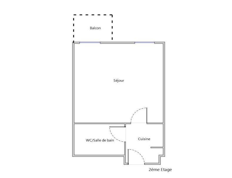Appartement à vendre 1 23.61m2 à Toulouse vignette-5
