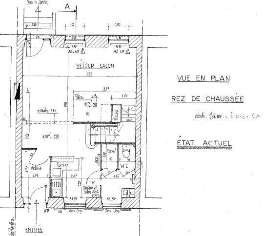 Maison à vendre 4 116m2 à Mamers plan-1
