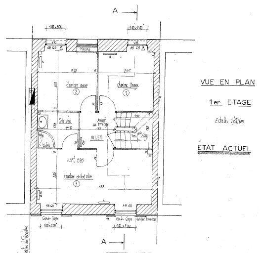 Maison à vendre 4 116m2 à Mamers plan-2