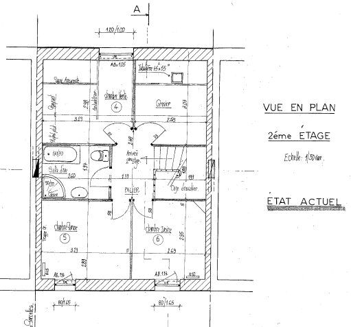 Maison à vendre 4 116m2 à Mamers plan-3